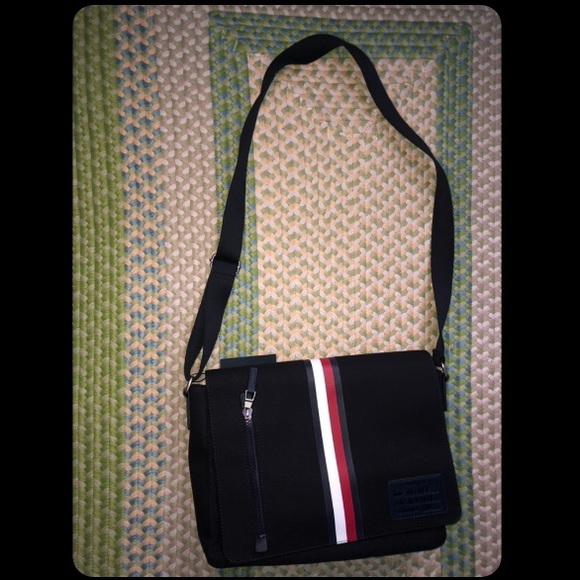 57300ecac9 Tommy Hilfiger Bags   Canvas Mens Messenger Bag   Poshmark